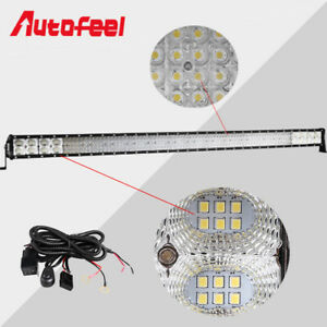 46inch Led Work Light Bar Combo Lamp Offroad Driving Lamp Atv Ute Suv 4wd 44