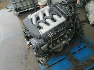 1998 1999 Honda Accord 3 0 V6 Automatic Engine Motor Transmission Combo Oem