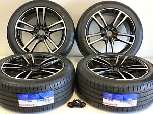 20 Wheels Rims Tires Fit Porsche Cayenne Panamera Gts Turbo Styl Staggered Tire