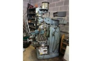 Induma 2hp Vertical Milling Machine With 2 Axis Mitutoyo Dro