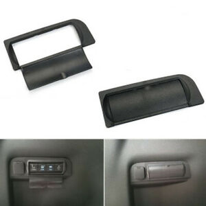 Car Auto Rear Trunk Seat Button Cap Cover Trim For Ford Explorer 2011 2018 Parts