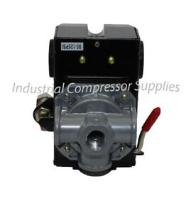 Ics 95 125 Replacement Air Compressor Pressure Switch Four Port 95 125 Psi