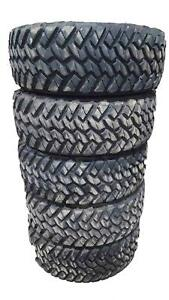 Set Of 5 Nitto Trail Grappler M T Tires 35x12 50x17