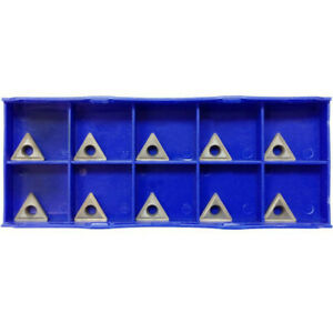 10 Pc 3 8 Inserts C6 Carbide Tip For Turning Tool Bit Tcmt 2151 Chipbreaker