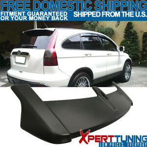 Fits 07 11 Honda Crv Cr v Oe Factory Style Rear Hatchback Roof Top Spoiler Wing