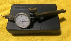 Mitutoyo 513 202 Series Dial Test Indicator 0005 03 With Case