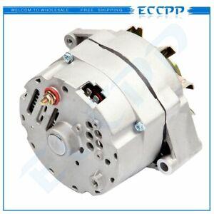 Alternator Fits High Output 105 Amp 1 Wire 10si Self Exciting Sbc Bbc Gm Adr0151