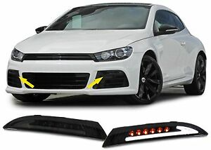 Smoked Dynamic Led Turn Signals With Parking side Lights For Vw Scirocco Gift