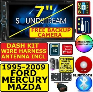 95 Up Ford Mercury Mazda Cd Dvd Bluetooth Usb Aux Sd Car Radio Stereo Pkg