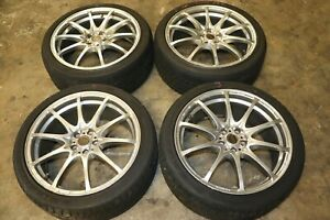 Rays Volk Racing Ce28 Nf Forged Wheels 18x8 Et44 Rims 5x100 Subaru Impreza Wrx