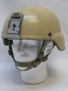 USED MSA MICH MADE W KEVLAR ACH TACTICAL COMBAT HELMET X-LARGE 8470-01-529-6365