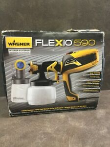 Wagner Flexio 590 Hand held Spray Kit Variable Speed up To 8 0gph lam023415