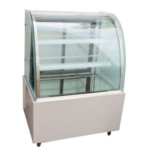 220v Refrigerated Cake Display Cabinet Floor Standing 35 4 new