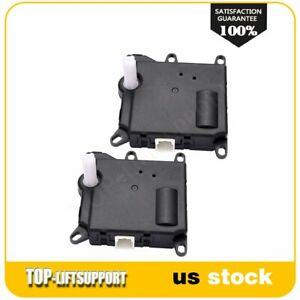 2 Fit For 2007 2010 Ford Explorer Sport Trac A c Heater Box Vent Door Actuator