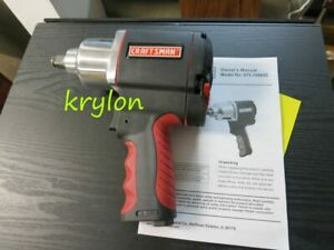 Craftsman 1 2 Drive Air Impact Wrench 875 168820 Manual Paperwork Tested