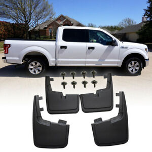 Splash Guards Mud Flaps For 2015 2019 Ford F 150 2017 Without Fender Flares 2018