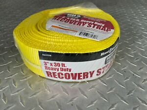 3 X 30 Feet 90000 Lbs Tow Strap Off Road Recovery Strap