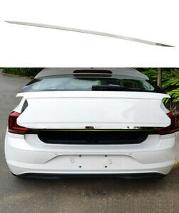 Steel Rear Tail Gate Molding Trim Cover For Volkswagen Polo Mk6 Hatchback 18 20