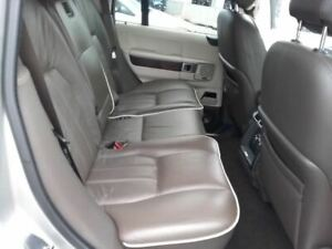 2010 Land Rover Range Rover Rear Seat Assembly Brown Leather