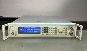 Marconi 2024 Signal Generator Opt 04 Ocxo Calibrated With Certificate