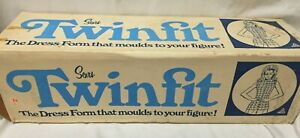 Vintage Sears Roebuck Twinfit Dress Form Size A No 2250 Appears Unused