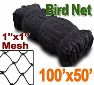 Bird Netting 50 X 100 Net Netting For Bird Poultry Avaiary Game Pens 1 Hole