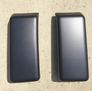 New Pair L R Front Bumper Guards Pads Inserts Caps For 2009 2014 Ford F150