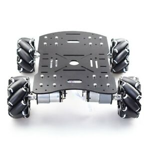 4wd 60mm Mecanum Wheel Robot Car Chassis Kit Suspension Car Platform For Arduino