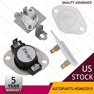 Wp8577274 Dryer Thermal Fuse Thermostat Replacement Part For Whirlpool Kenmore