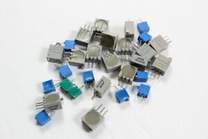 Bourns Assorted Trimmer Potentiometer 500 Ohm Pack Of 30