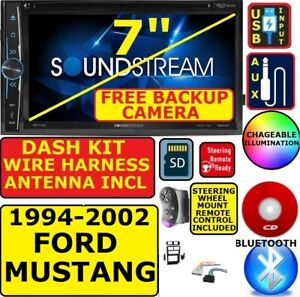 1994 2002 Ford Mustang Cd Dvd Bluetooth Usb Car Radio Stereo W Free Backup Cam
