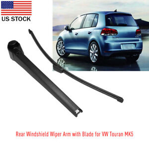 Windshield Rear Back Wiper Arm Blade Replacement Kit For Vw Golf Touran Mk5 Us