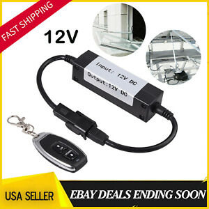 12v Dc Motor Linear Actuator Wireless Remote Control Dpdt Switch Forward Reverse