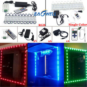 50 100ft 5050 Smd 3 Led Module Store Front Window Light Strip Remote Power