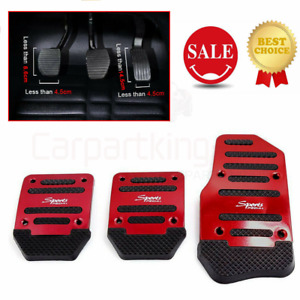 Manual Transmission Clutch Accelerator Brake Non Slip Car Pedal Cover Auto Parts