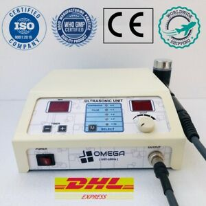Ultrasound Therapy Machine Omega 1mhz Original Home Use Application Pain Relief