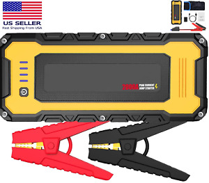 2500a Heavy Duty Truck Battery Booster Pack Jump Starter Portable Amps Car