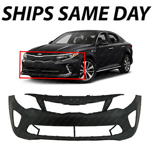 New Primered Front Bumper Cover Replacement For 2016 2017 2018 Kia Optima Sx Sxl