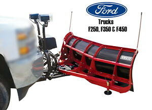 Ford Truck Big Lot Scoop Snow Plow Severe Duty Commercial 8 Handles Big Pushes0