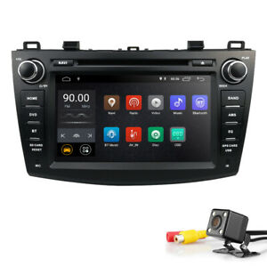 For Mazda 3 2010 2011 2012 2013 Car Stereo Android 9 0 8 Dvd Gps Radio Free Cam