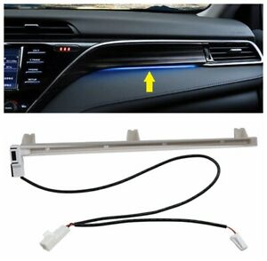 Console Dashboard Atmosphere Ambient Light Lamp Led Trim For Toyota Camry 2018