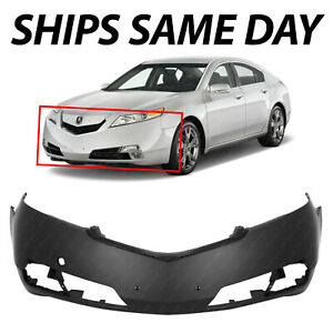 New Primered Front Bumper Cover Replacement For 2012 2013 2014 Acura Tl 12 13 14