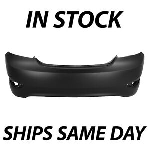 New Primered Rear Bumper Cover Replacement For 2012 2017 Hyundai Accent Sedan