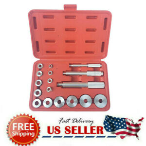 17pc Aluminum Master Bearing Race And Seal Driver Whell Axle Removal Tool Set Us