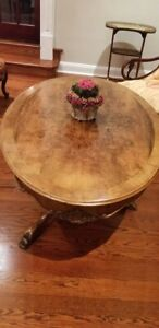 Antique Oval Wooden Table