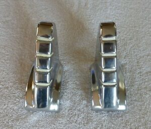 Pair Nos 1942 Studebaker Front Bumper Guards Left Right