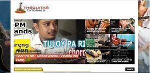 Killer Design established Profitable Guitar Video Website For Sale turnkey