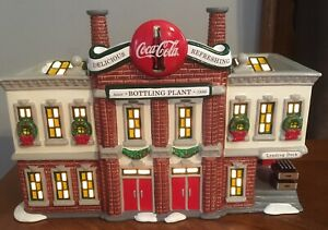 Dept 56 Snow Village COCA-COLA BOTTLING PLANT #56-54690
