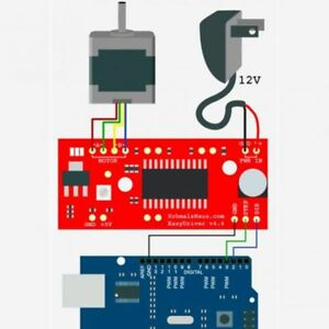Microstepping Driver Motor Driver Shield Stepping Easy Driver Stepper D