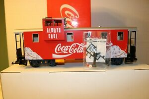 LGB 45710 Coca Cola Limited Edition Caboose, Collection Item -NEW